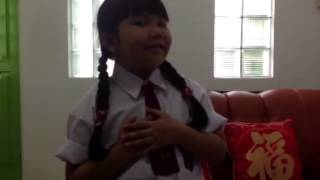 Go Study/Pergi Belajar song of Ibu Sud Covered by Shanti