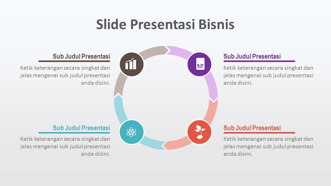 Desain Slide Presentasi Bisnis di Powerpoint