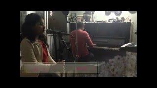 9 Yrs Old Shreya Singing Raina Beeti Jaye With Chetan on Piano Mystique