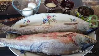 Котлеты из рыбы с морской капустой. Диетические.