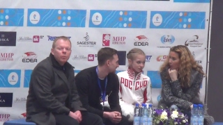 2017 Russian Jr Nationals - Alexandra Trusova SP