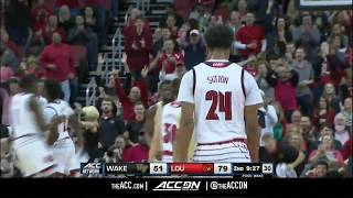 Wake Forest vs Louisville College Basketball Condensed Game 2018