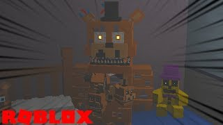 Finding NEW FNAF 4 Animatronics and Secrets in Roblox Nightmares at Freddys 4 RP