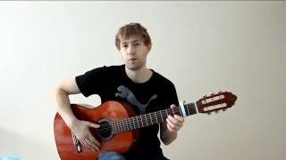 Простой разбор песни жуки батарейка на гитаре, популярные песни под гитару