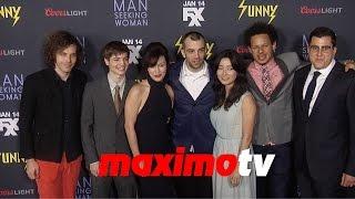 "FXX's ""Man Seeking Woman"" Premiere Jay Baruchel, Eric Andre, Britt Lower, Maya Erskine"