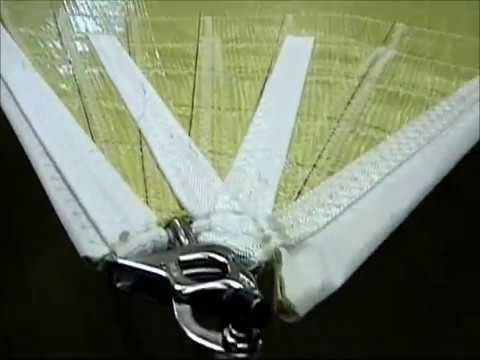 KENT SAILS Kevlar Tri-radial Blades for 2012