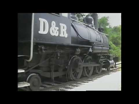 OIL FIRED STEAM ENGINE CAB RIDE D&R # 4 PARRISH, FL MAY 20, 1995