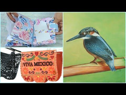 ManosalaObraTv 2018 Programa 26  Pintar al Oleo – Scrapbooking – Sellos Estilo Mexicano