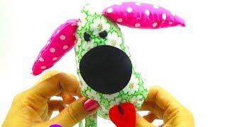 Развивающее видео для детей, делаем собаку своими руками  Распаковываем набор для рукоделия  Игрушк