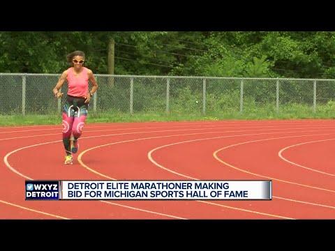 Detroit elite marathoner making bid for Michigan Sports Hall of Fame
