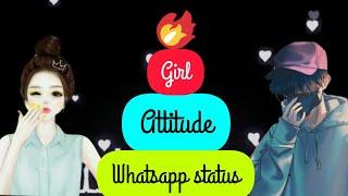 Next Level Girl's Attitude🔥|Tu chori hai ya bum|😎New WhatsApp Status Video 2020😎| Trending status