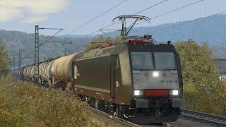 LET`S TEST Train Simulator 2015 / Test der BR 185.5 MRCE von DTG auf Hagen-Siegen