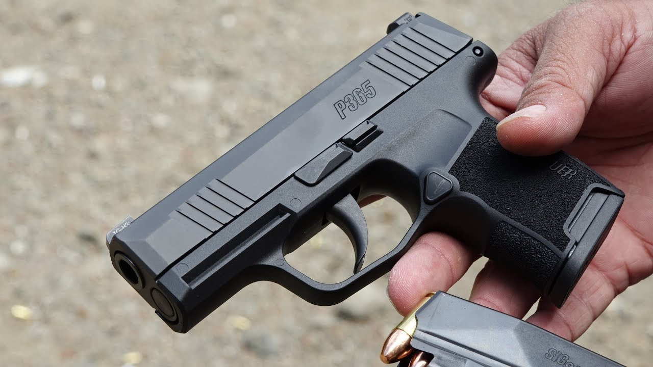 SIG Sauer P365 Review | The Best Concealed Carry Handgun