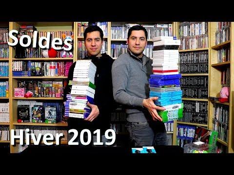 SOLDES JEUX VIDÉO HIVER 2019