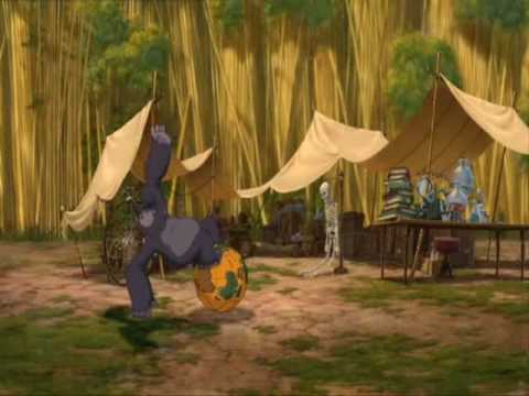 Tarzan - Trashin' the Camp (german with lyrics)