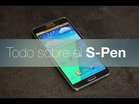 Todo sobre el S-Pen del Samsung Galaxy Note 3