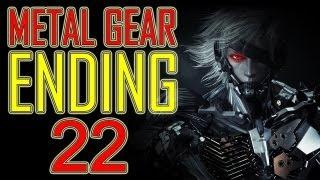 Metal Gear Rising Revengeance - ENDING HD + Final Boss + After credits ENDING end part 22