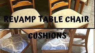 DIY| Revamp Kitchen Chairs | Make over | 2018