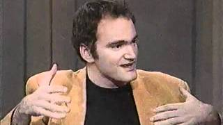 Quentin Tarantino Pulp Fiction On Letterman