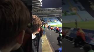 Coventry city v Wycombe full time scenes