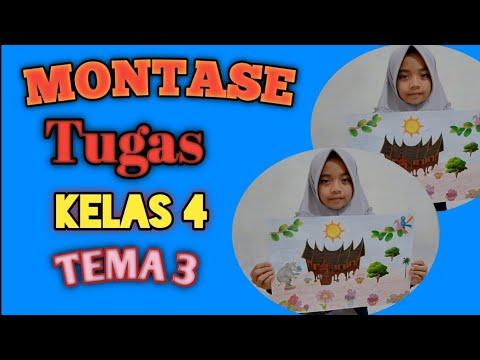 Gambar Montase Bertema Cinta Lingkungan Montase Tugas Sekolah Kelas 4 Tema 3 Kurikulum 2013 Youtube