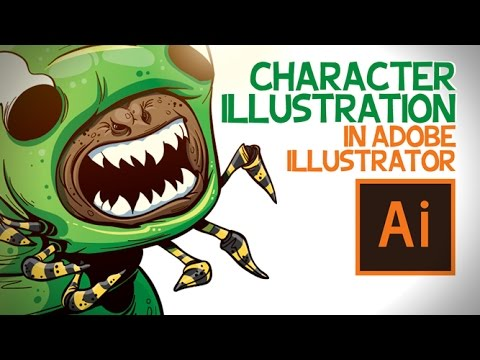 Character in Adobe Illustrator
