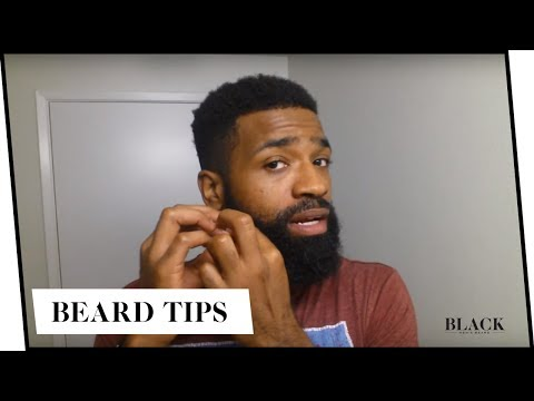 How To Soften Curly and Coarse Beards