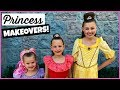 DISNEY PRINCESS MAKEOVER AT DISNEYLAND! BIBBIDI BOBBIDI BOUTIQUE