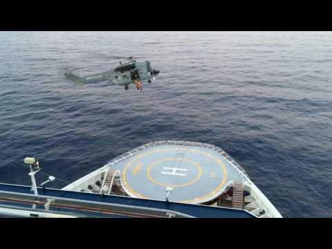 Mediterranean Helicopter Rescue - Celebrity Equinox