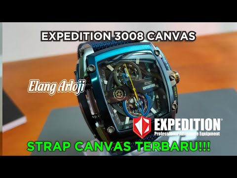 JAM EXPEDITION CANVAS BARU - REVIEW E 3008 By ELANG ARLOJI