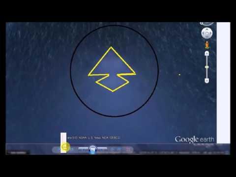 Descubren enigmática pirámide en el fondo del Pacífico