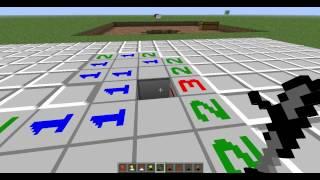 обзор мода Minesweeper-Mod на майнкрафт 1.6.4