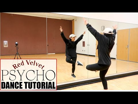 Red Velvet 레드벨벳 'Psycho' Lisa Rhee Dance Tutorial