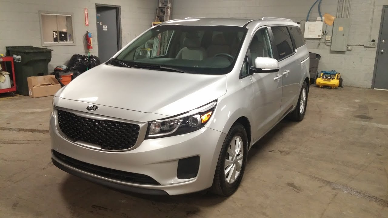 2016 kia sedona 8 passenger lx youtube. Black Bedroom Furniture Sets. Home Design Ideas
