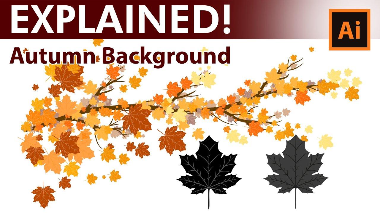 How to create custom Autumn leaves brushes in Adobe ...
