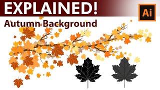How to create custom Autumn leaves brushes in Adobe Illustrator