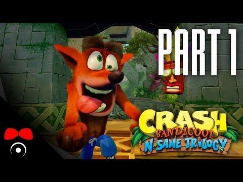ÚPLNĚ JAKO DARK SOULS! | Crash Bandicoot N. Sane Trilogy #1