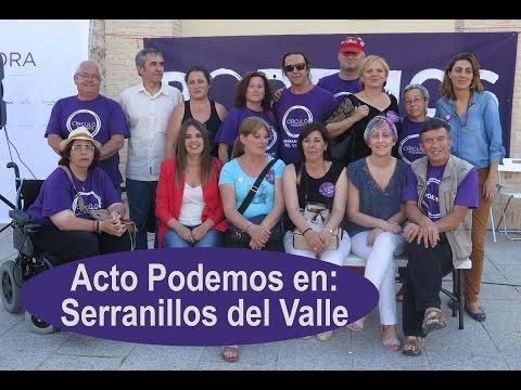 Acto Podemos Serranillos del Valle