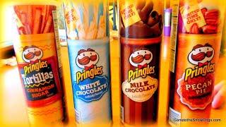 CHOCOLATE PRINGLES??? | Pringles Taste Test