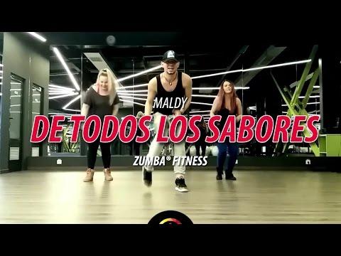 De Todos Los Sabores – Maldy   Zumba Fitness Choreo by ionut