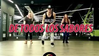 De Todos Los Sabores - Maldy | Zumba Fitness Choreo by ionut