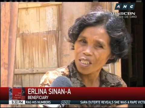 Drought-hit CDO residents get food aid