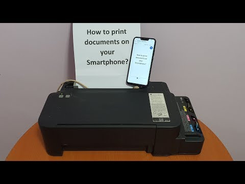 Printing Documents Using Android Smartphone And OTG Adaptor