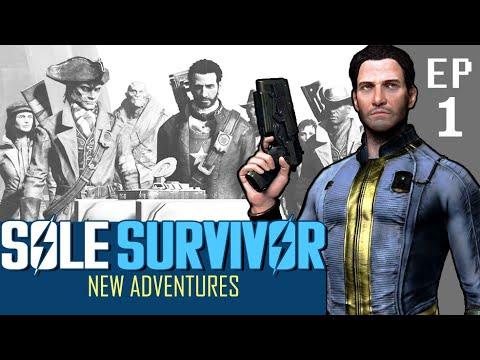 SOLE SURVIVOR | New Adventures ] EP1 【A Fallout 4 Machinima】