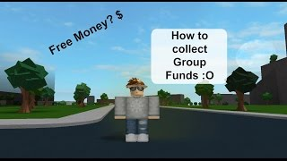 ROBLOX | How to collect your Group Funds [Tutorial]