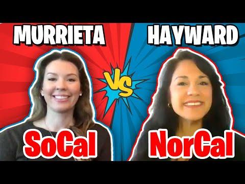 Living In Murrieta SoCal Versus Hayward NorCal