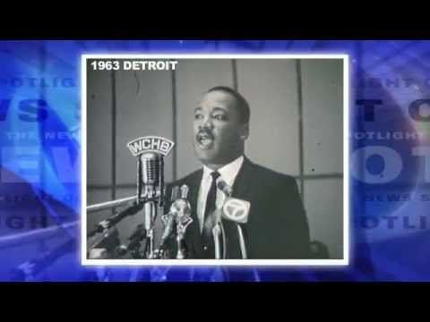 Dr. Martin Luther King, Jr. @ Detroit: His First