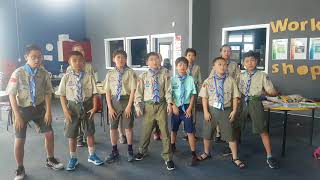Chinese Scouts Haka - Fairfield Intermediate International Dept