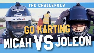 🏎🏁GO KARTING | MICAH vs JOLEON | THE CHALLENGES