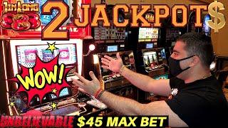 2 HUGE HANDPAY JACKPOTS On High Limit JIN LONG 888 & Konami Slot Machines -Huge high Limit Slot Play